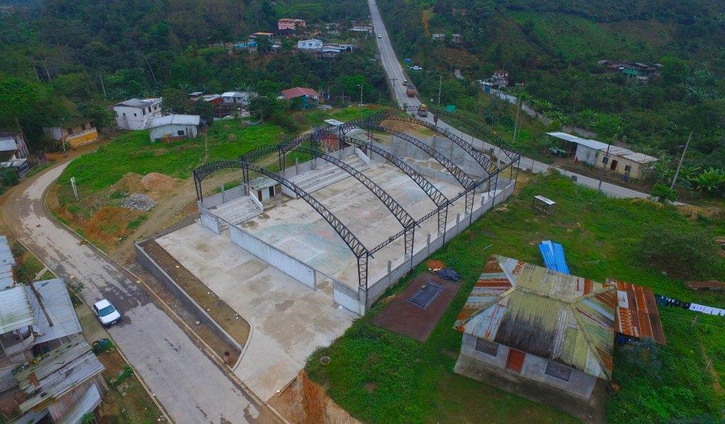 0001 CONSTRUCCION COLISEO SITIO HUIZHO