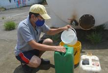 Aguapas intaló tanques reservorio para entrega de agua.