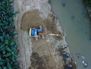 Trabajos de prevención en Río Buenavista