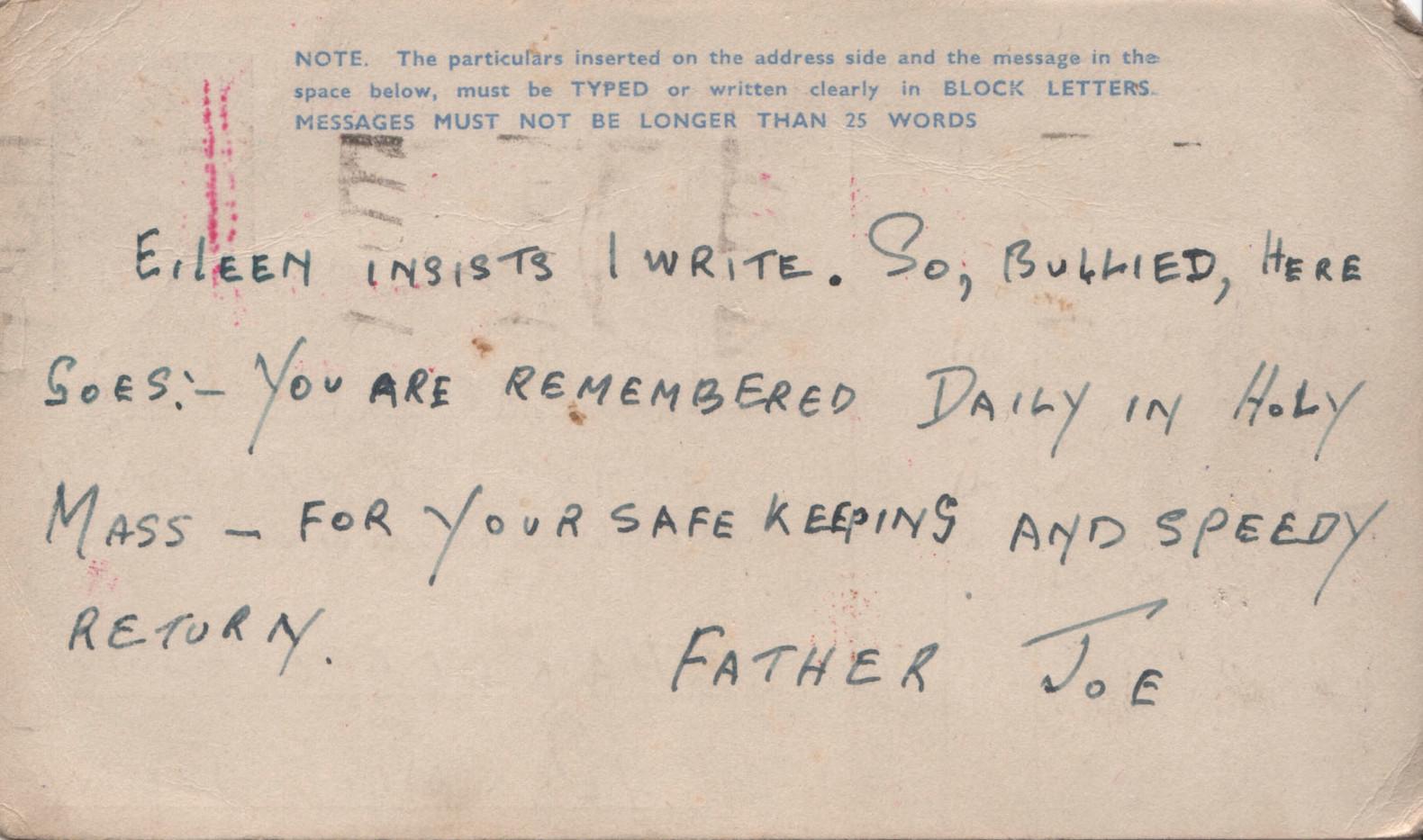 1944.04.08. Fr Joe Murphy