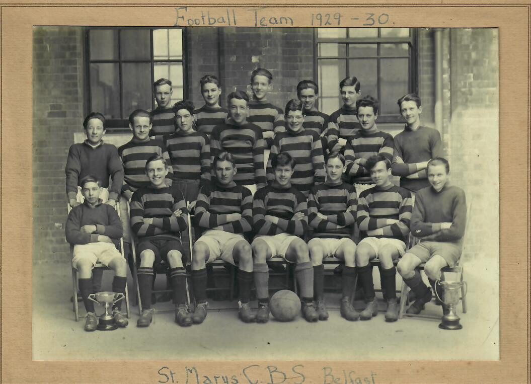 St Marys CBS Football Team 1929-30