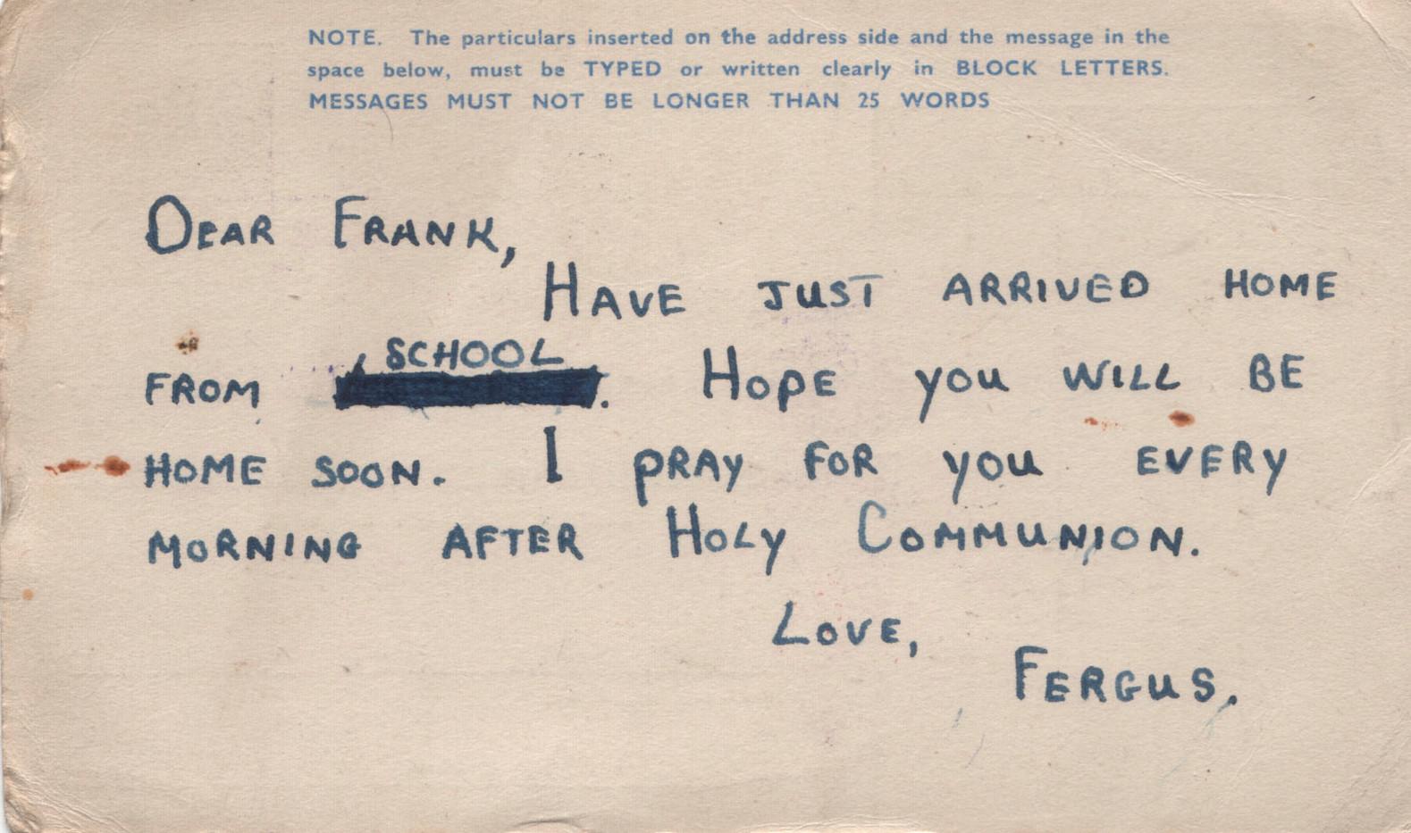 1944.07.01. Fergus O'Kane