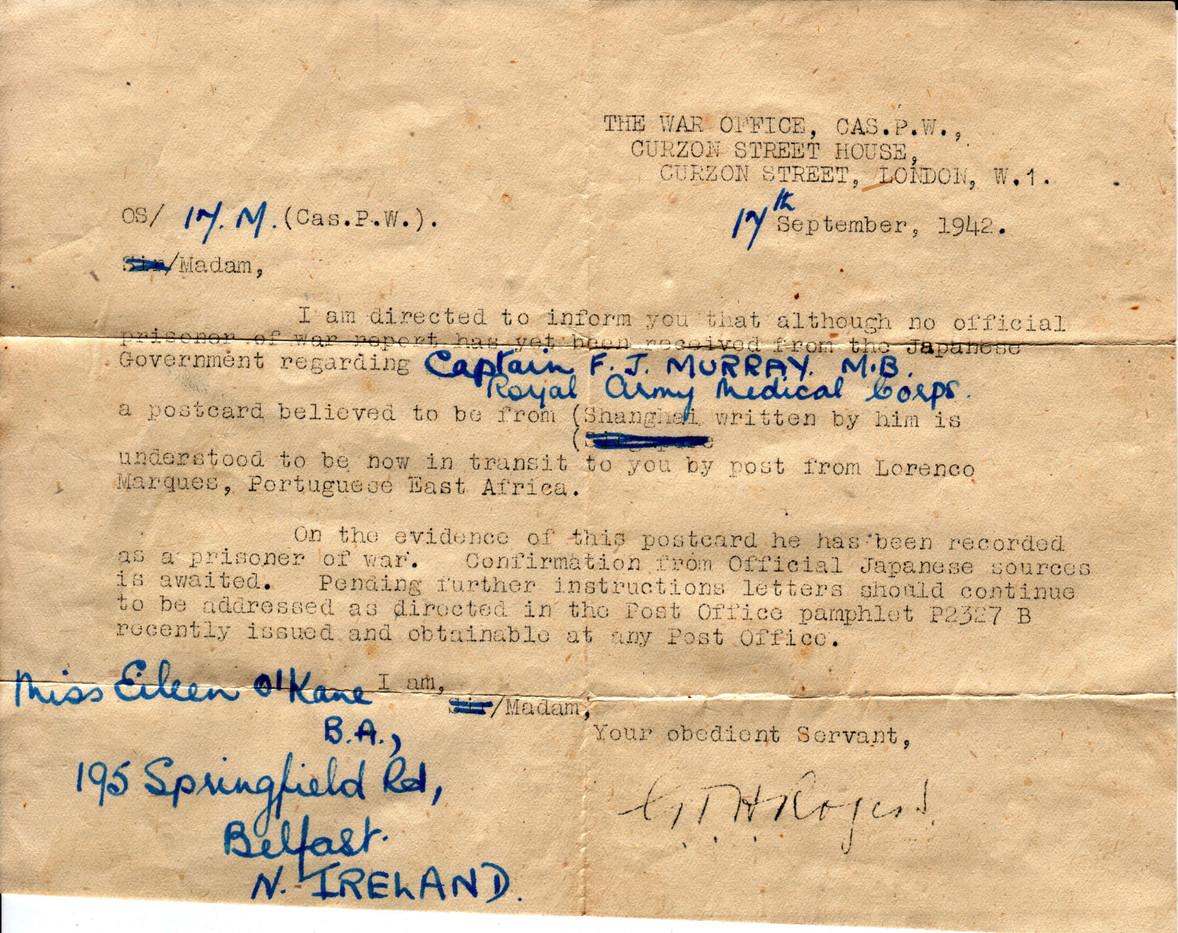 1942.09.17. War Office B