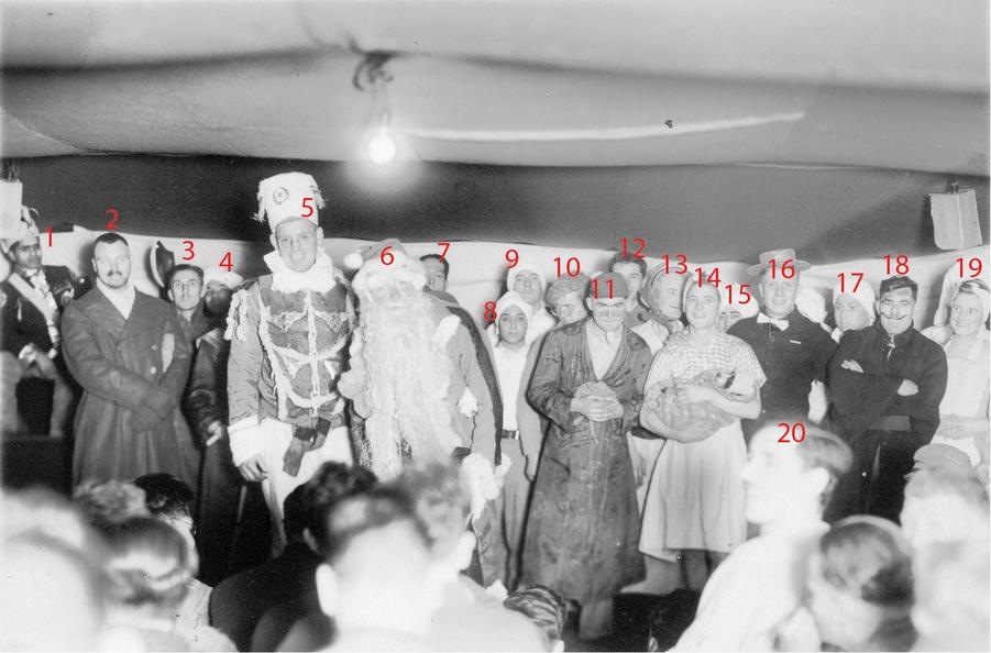 Annotated Christmas Concert 1, Muroran 1944