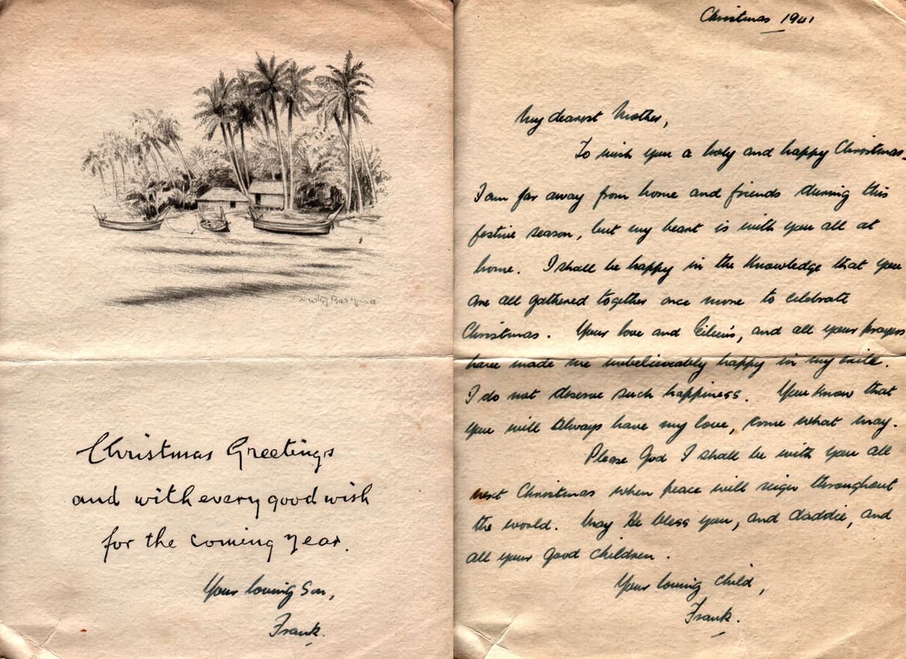 Christmas 1941 To Mammie