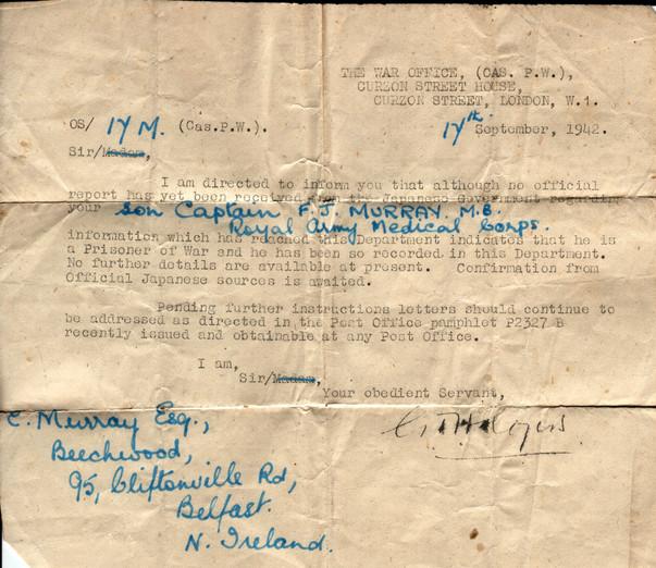 1942.09.17. War Office A