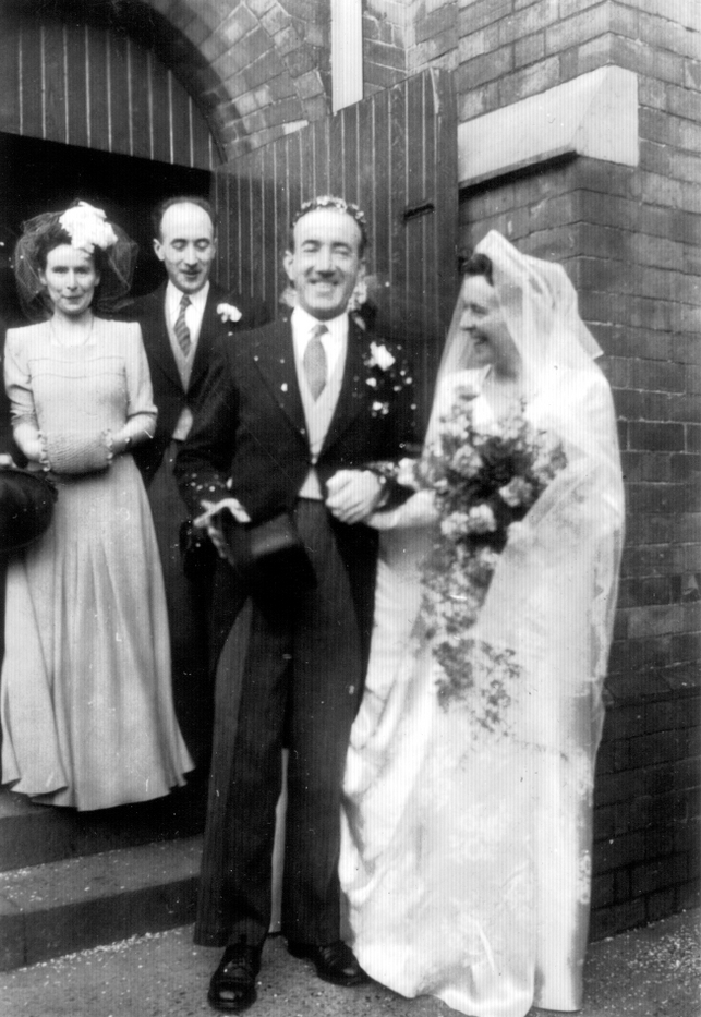 Wedding 4 Feb1946
