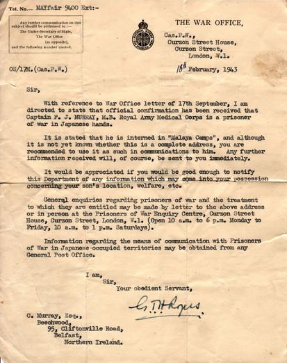 1943.02.18. War Office