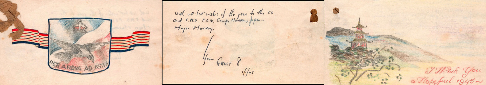 Group 8 New Year 1945