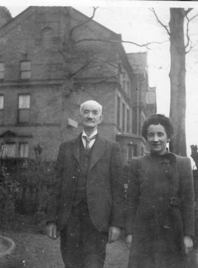 Grandad Murray & daughter Anne