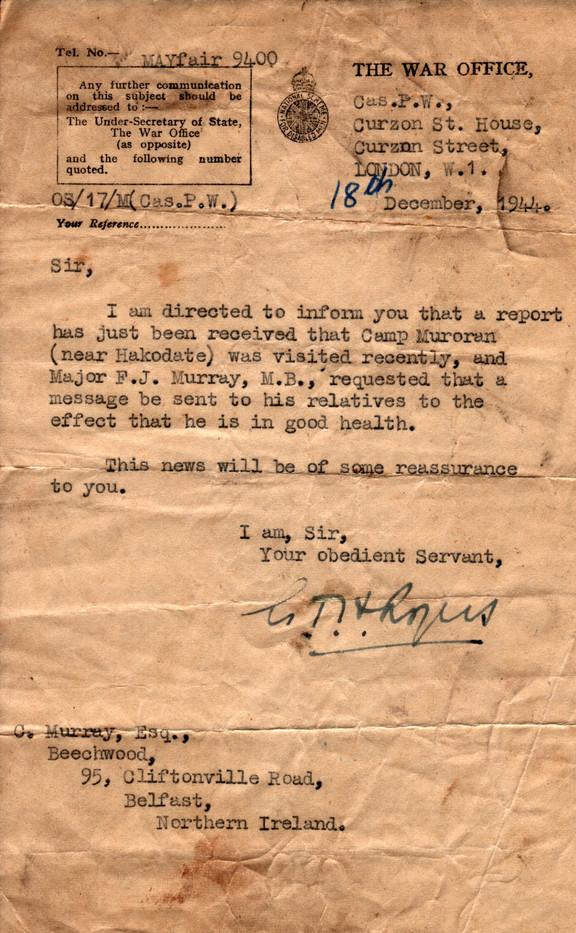 1944.12.18. War Office