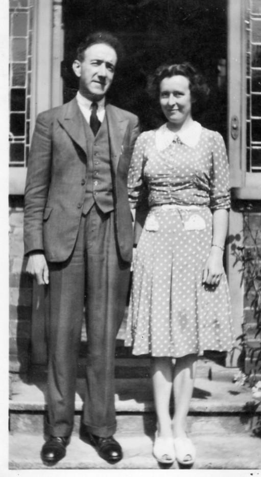 Mum  & Dad at Beechwood