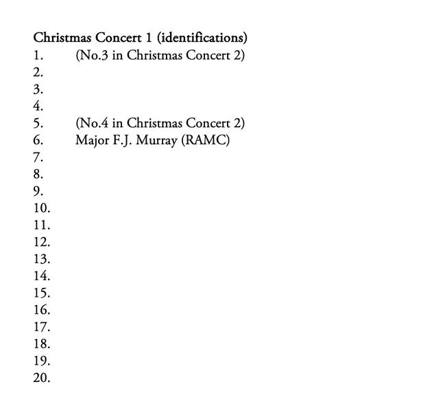 Christmas Concert 1 Key