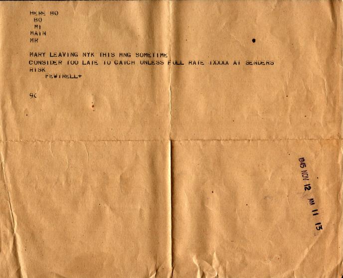 November 12th 1945