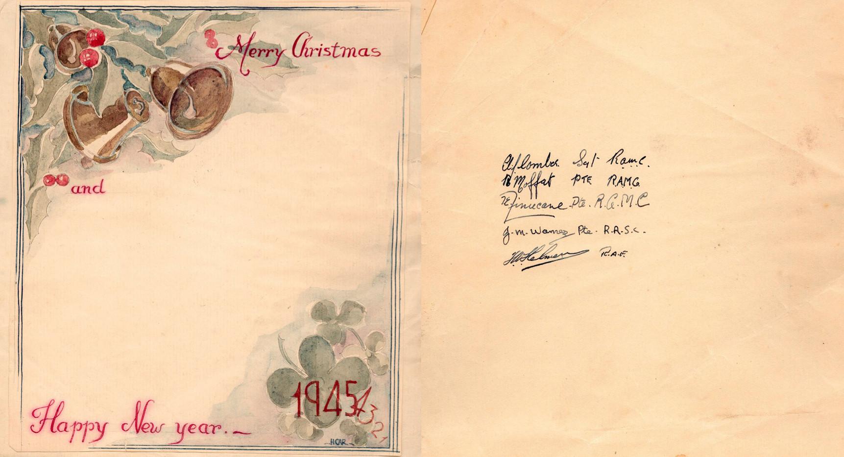 Hospital Christmas 1944