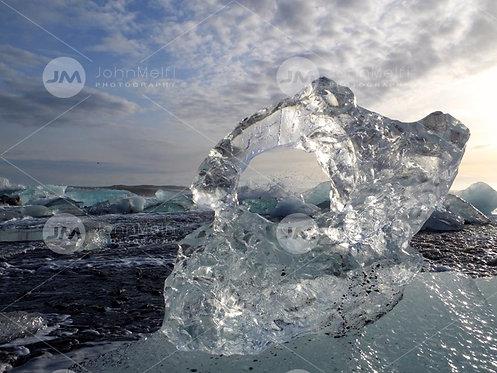 Waves Through the Ice Window