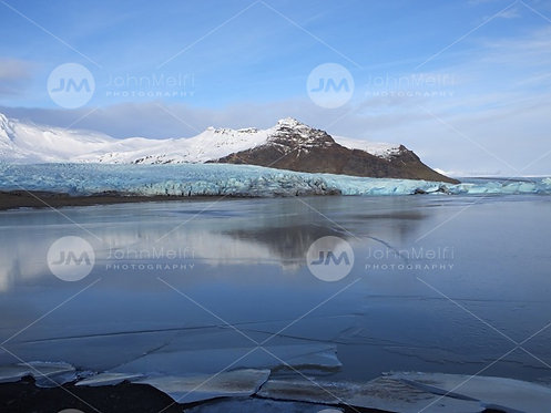Glacier Meets the Lake