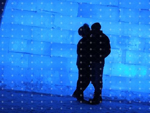 Kissing Silhouette