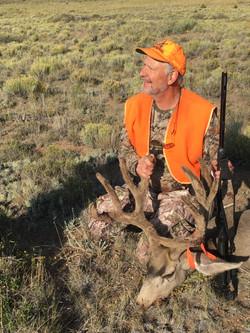 2017 Muzzleloader Buck taken on west fac