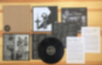 Bad Breeding vinyl, with inserts, essays and posters