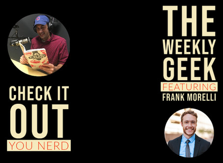 Author Interview - Frank Morelli | The Weekly Geek