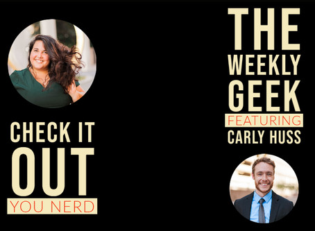 Author Interview - Carly Huss | The Weekly Geek