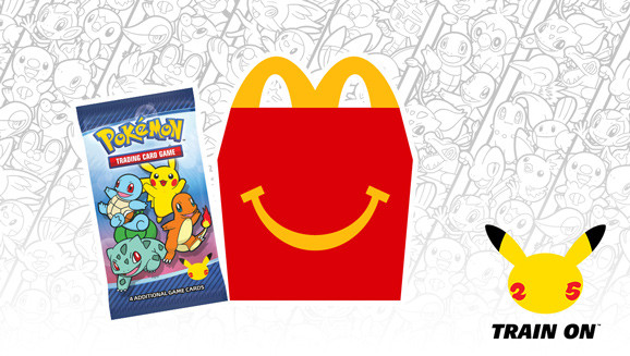 Pokemon 25th Anniversary Happy Meal