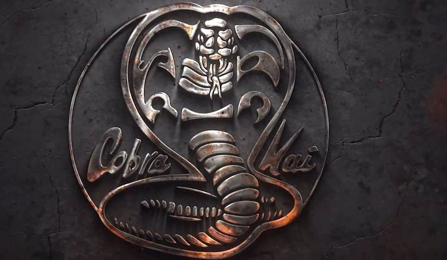 Cobra Kai Title Card