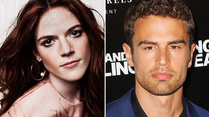 Rose Leslie and Theo James in The Time Traveler's Wife