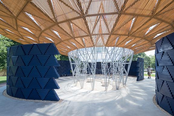 IN PICTURES: Diébédo Francis Kéré's 2017 Serpentine Pavilion