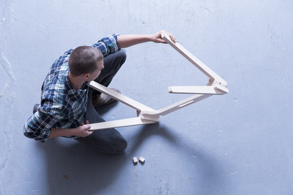 No screws, bolts or nuts – furniture designed to work the way we do