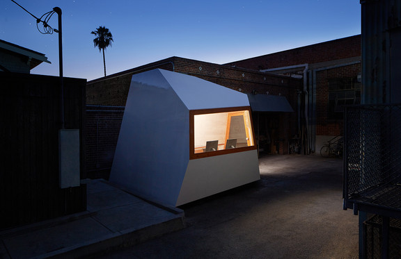 Knowhow Shop's 'Lighthouse' is a micro-office that's built like furniture and looks