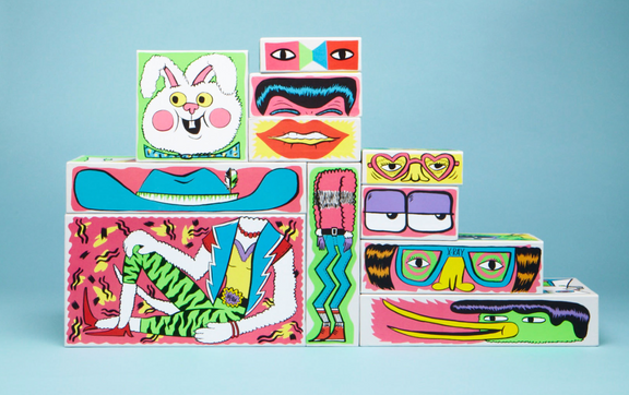 Strange and stackable – Stevie Gee's children's packaging for Stella McCartney