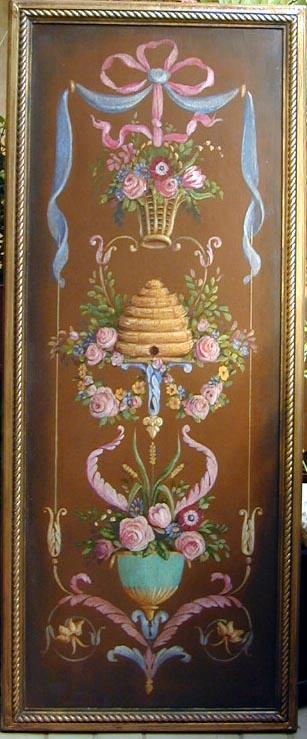 Antique Beehide Panel