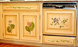 Botanical Cabinet Panels