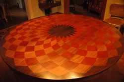 faux inlay tabletop