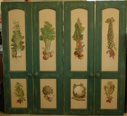 Vegetable panels