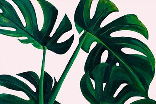 "8"" x10"" Monstera Leaf SIGNED Print"