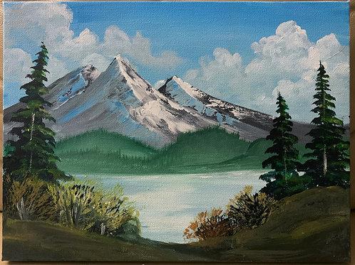 Mini Bob Ross Style Landscape