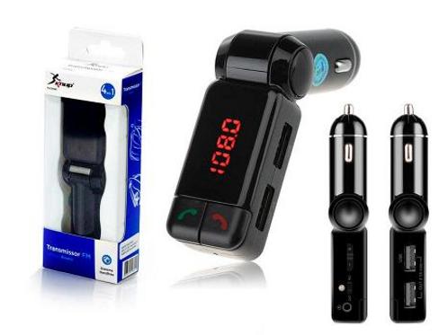 Transmissor Veicular 4 em 1 - Bluetooth, FM, MP3, USB