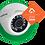 Thumbnail: Câmera DOME Intelbras VMD 1120 IR G4