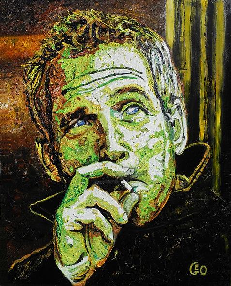 120 x 150 cm - Paul Newman