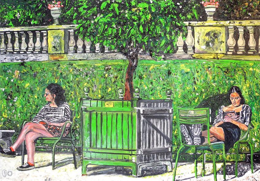 """130 x 90 cm - """"L'arbre aux filles"""""""
