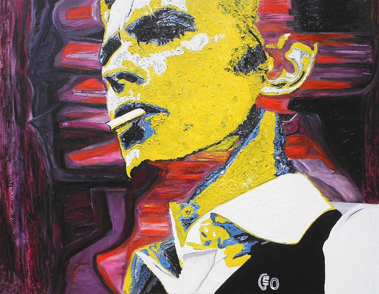 """130 x 100 cm """"David Bowie"""""""