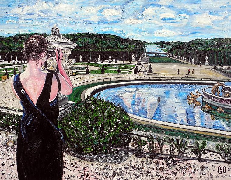 130 x 100 cm - Les jardins du Château de Versailles