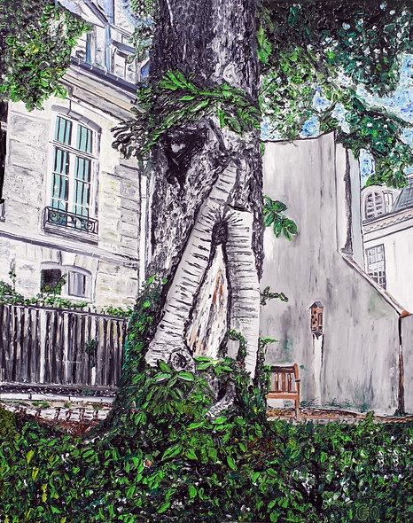 100 x 120 - Jardin der rosiers
