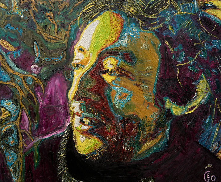 120 x 100 cm - Serge Gainsbourg