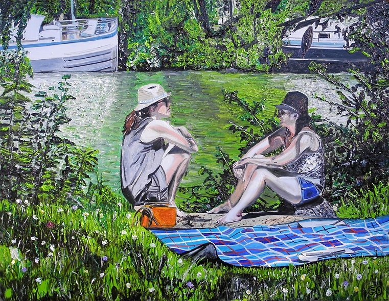 130 x 100 cm - Auvers Sur Oise