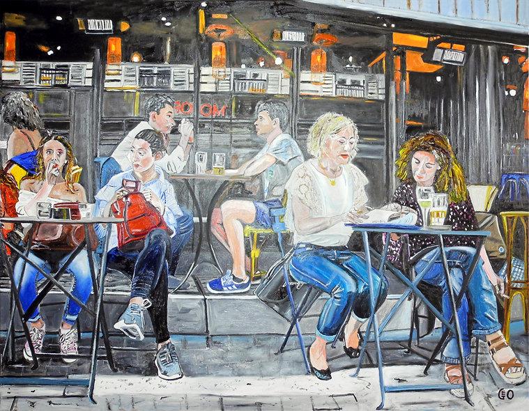 130 x 100 - Terrasse Parisienne