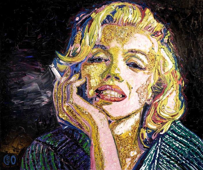 120 x 100 cm - Marilyn Monroe
